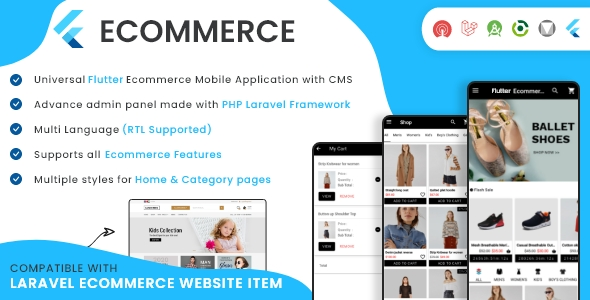 Laravel Ecommerce - Universal Ecommerce/Store Full Website with Themes and Advanced CMS/Admin Panel - 6