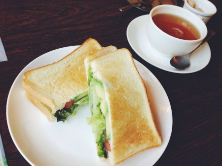 Yummy Veggie Sandwich