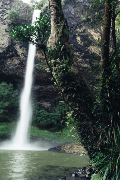 Bridal Veil Waterfalls, New Zealand
