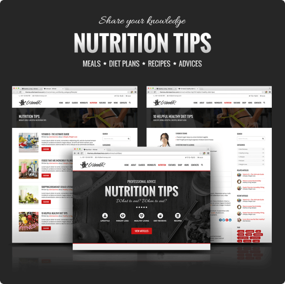 Winner Nutrition Tips
