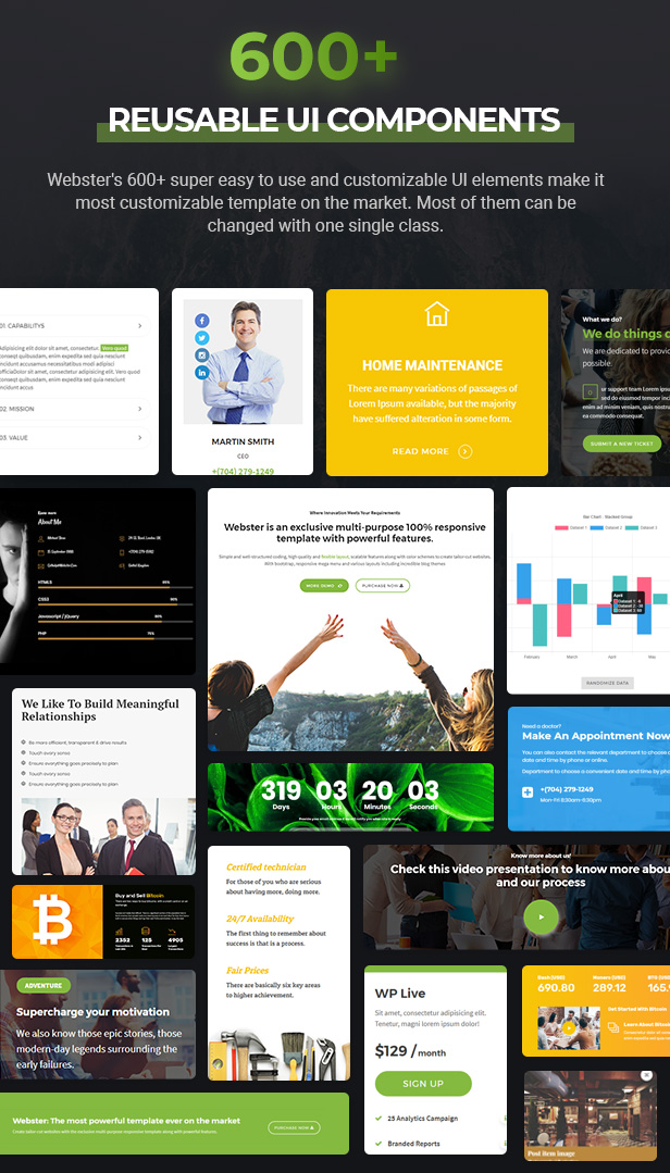 Webster - Responsive Multi-purpose HTML5 Template - 7