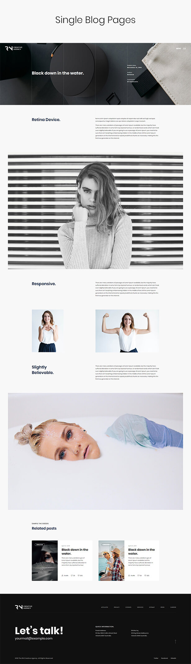 TheRN - Creative Agency React Gatsby Template - 7