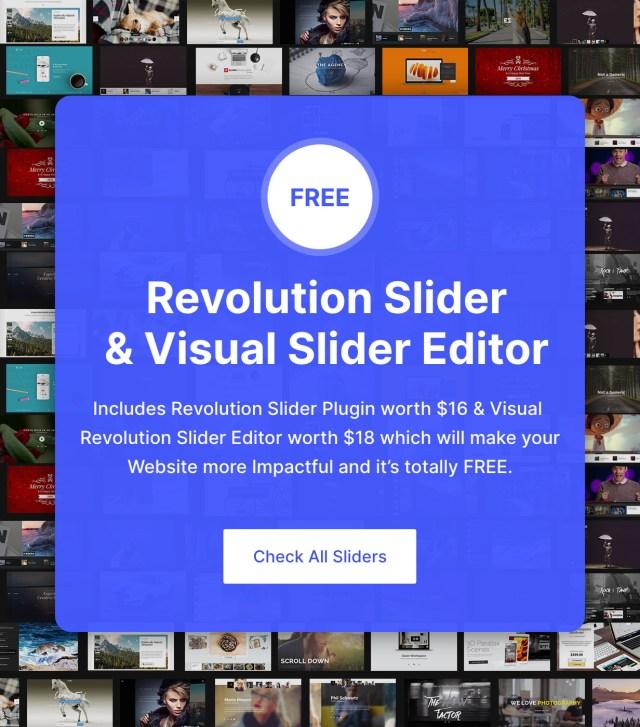 Revolution Sliders