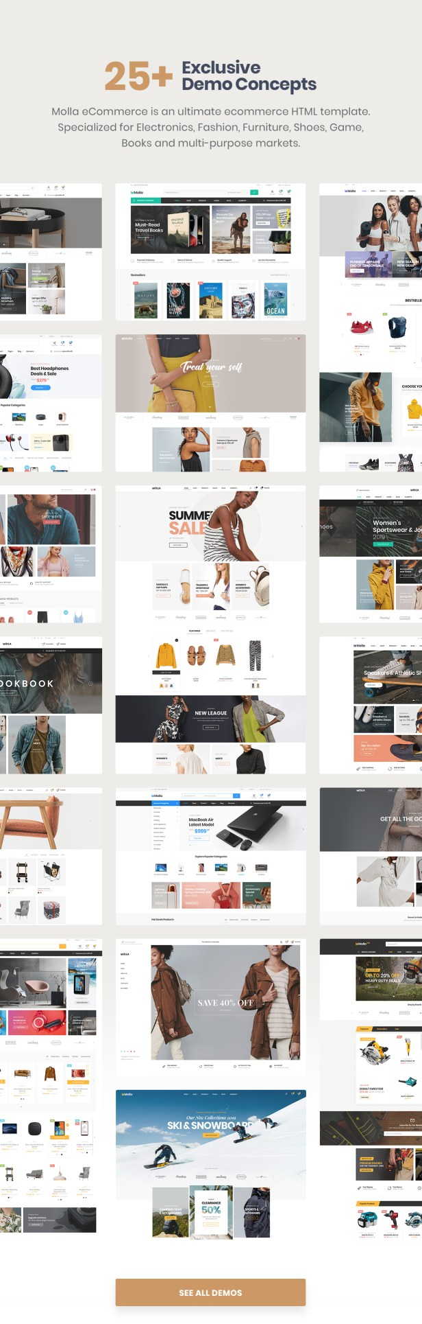 Molla - Multipurpose Responsive Shopify Theme - 6