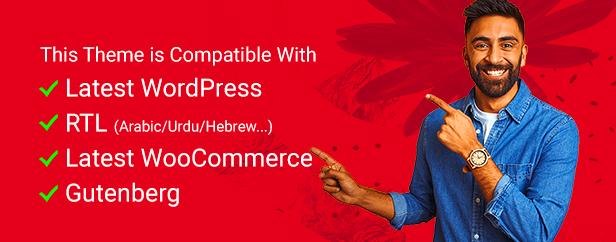 WordPress theme Gutenberg support