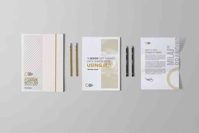 White Branding Set 1