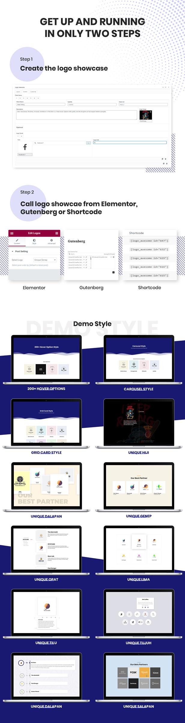 Logo Awesome Pro - Partner & Client Logo Showcase Plugin - 4