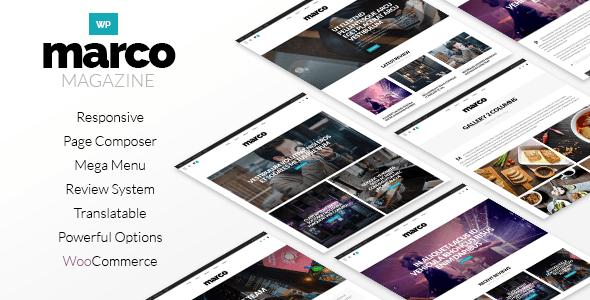 Marco | Responsive Magazine WordPress Theme