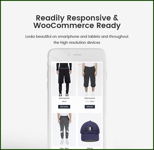 Responsive Blog WooCommerce WordPress Theme