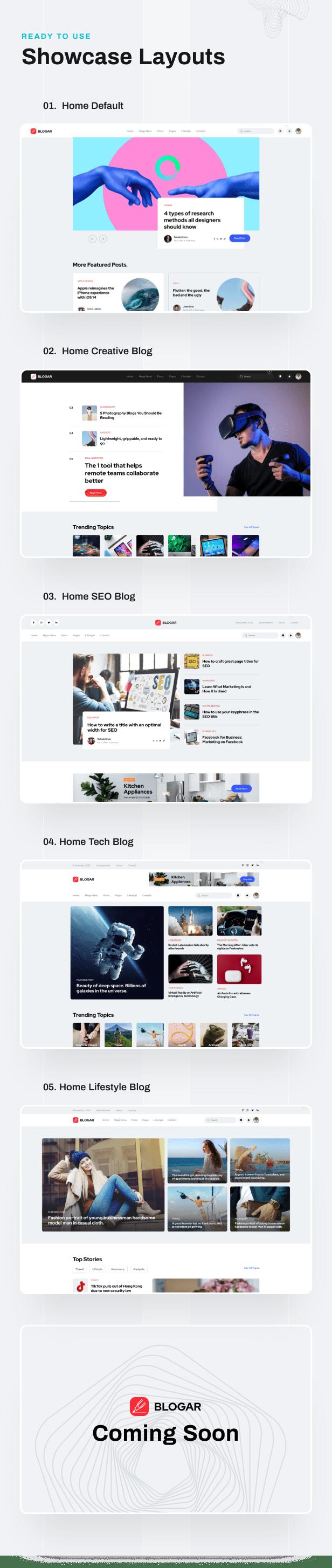 Blogar - Blog Magazine WordPress Theme - 2