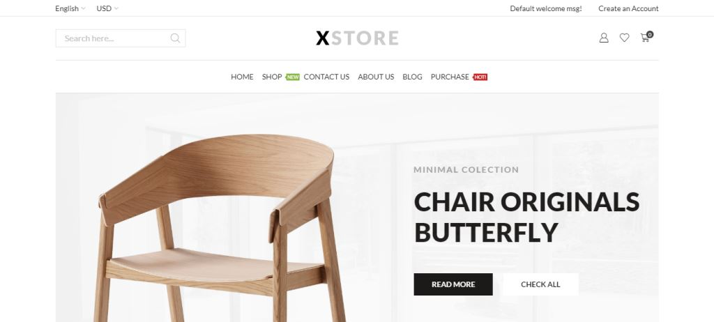 XStore Furniture & Woodwork WordPress Themes