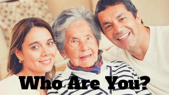 Who Are You Blog