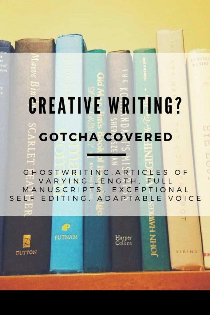 Need a creative writer? Ghostwriting, articles, self-editing, adaptable voice. Ashley Allyn. www.themessybadass.com