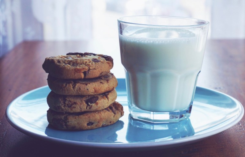 Cookies, milk, the messy badass