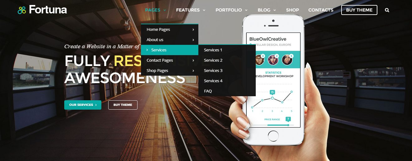 Q&A: Interview With Fortuna WordPress Theme Creators