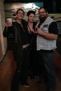 Xristian, Melanie and Monkey Boy