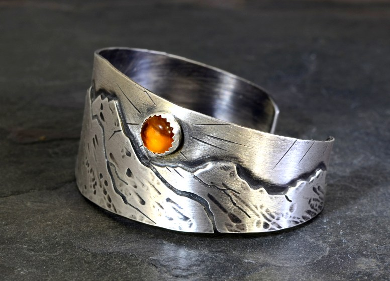 niciart_sterling_silver_mountains_and_amber_bracelet_2
