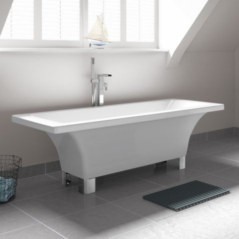 bathroom inspiration: isabella freestanding bath tub