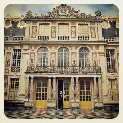 1 Marble Courtyard Chateau De Versailles