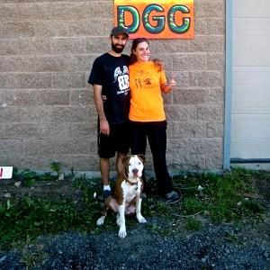 Ted & Lydia & Dog