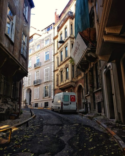 Beyoglu streetscape