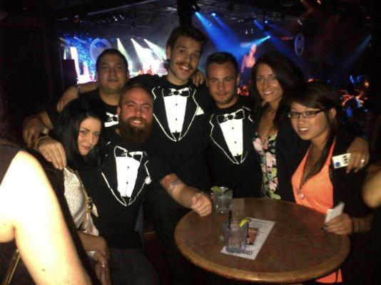 Lenny and crew at the VNA's