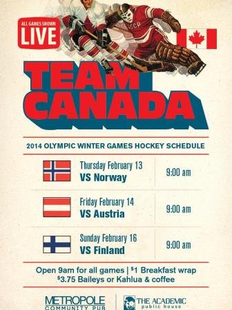 Team Canada Games
