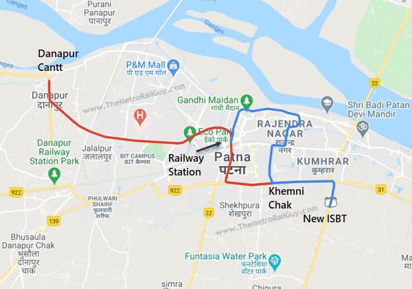 PatnaMetroRoute Kolkata Metro