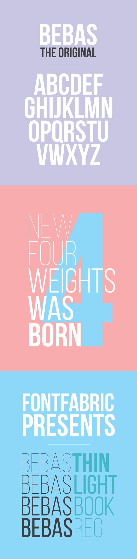 Free font - Bebas Neue