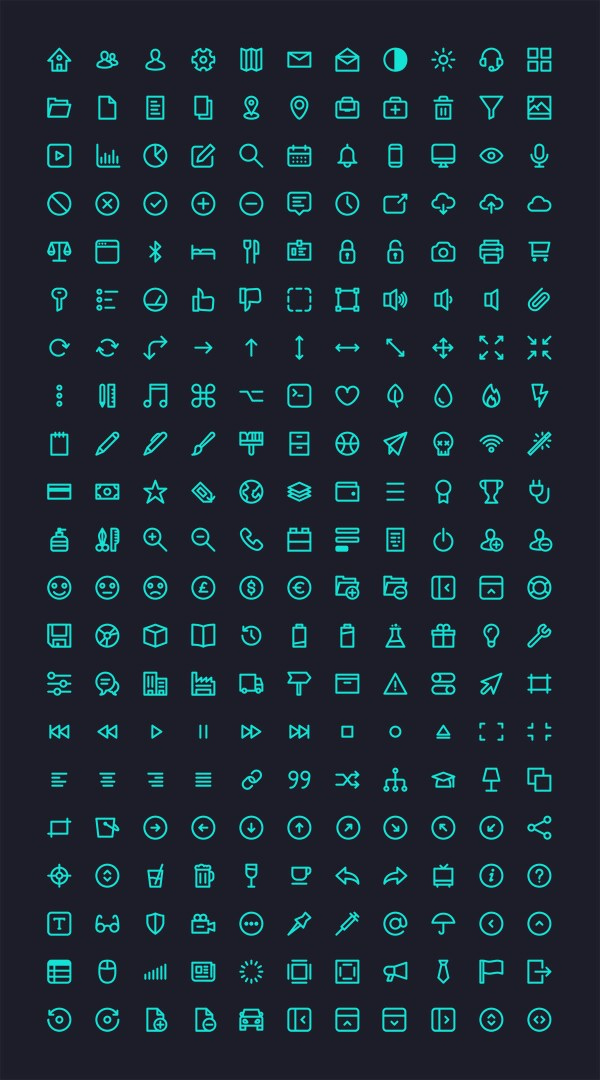 Free Icons - Micons: 231 icons