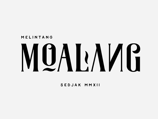 Moalang - A Free Decorative Font