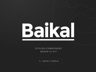 Baikal UI-Kit Samples