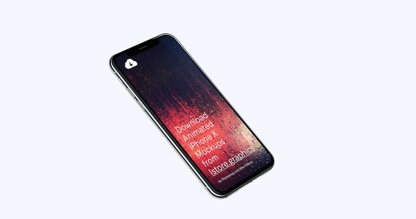4k Resolution Free iPhone X Mockup