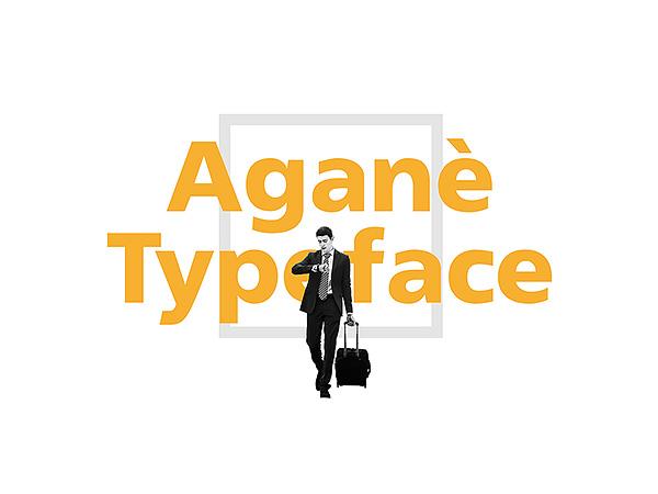 Agane Typeface - Free Sans Serif Font