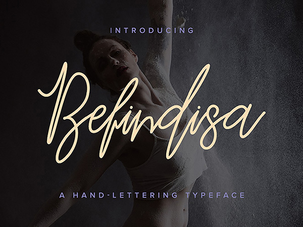 Befindisa Free Script Font