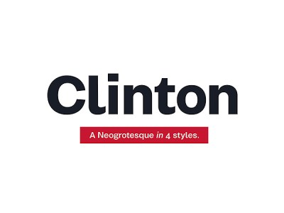 Clinton Free Font Family
