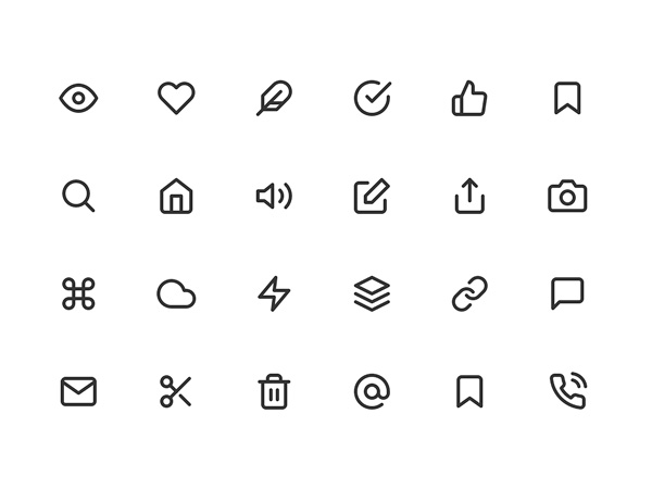 Feather: Simply Beautiful Open Source Free Icons