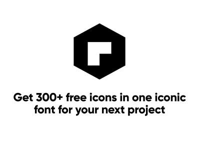 Iconic Font