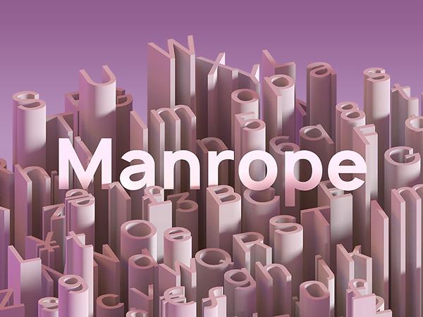 Manrope - Modern Geometric Sans Serif Free Font