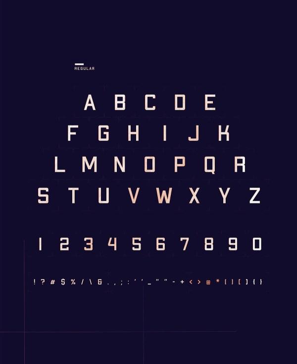Apex MK2 - Free Geometric Sans-serif Display Font - 02
