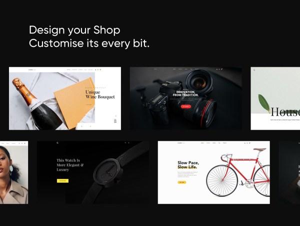 Creation Shop UI Kit Free Sample - 1