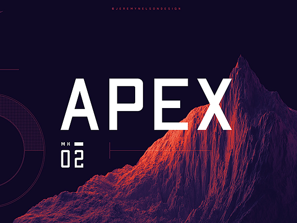 Apex MK2 - Free Geometric Sans-serif Display Font