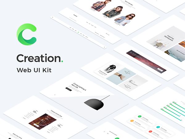 Creation Web UI Kit Free Sample
