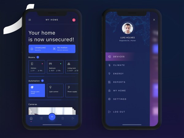 HIVO Smart Home Free UI Kit 02