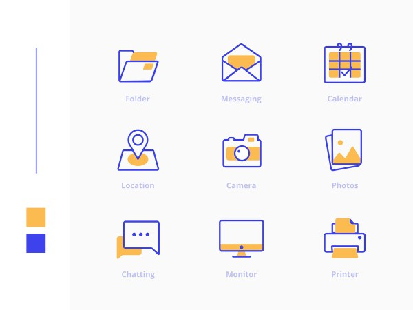 Freebies Office Icons Pack 01