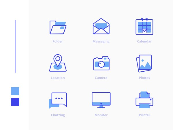 Freebies Office Icons Pack 02