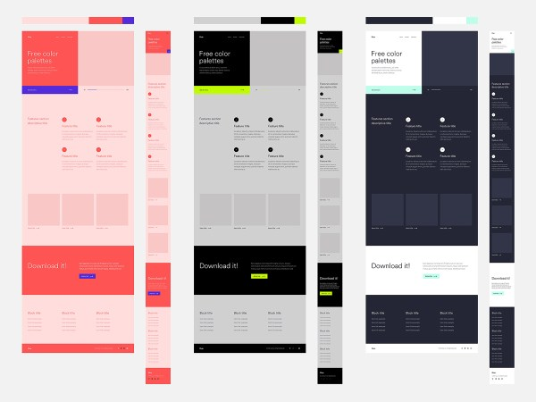 Hue - Free Website & App Color Palettes