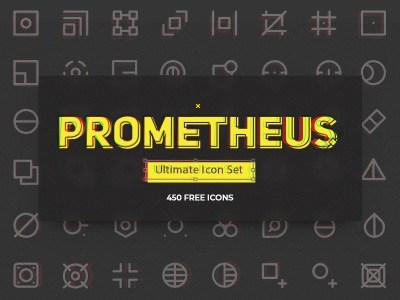 Prometheus Free Icon Set