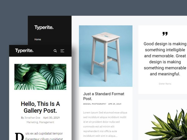 Typerite - Free Masonry Blog Template