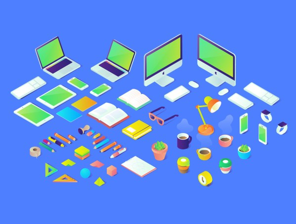 Free Isometric Illustrations